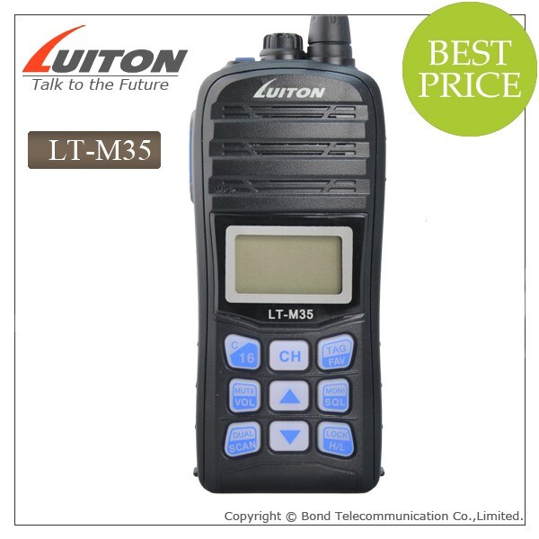 Wholesale Waterproof Lt-M35 VHF Wireless Portable Transceiver