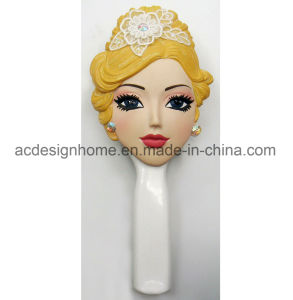 Wedding Bride and Groom Themed Couple Hair Comb Hair Brush for Gifts