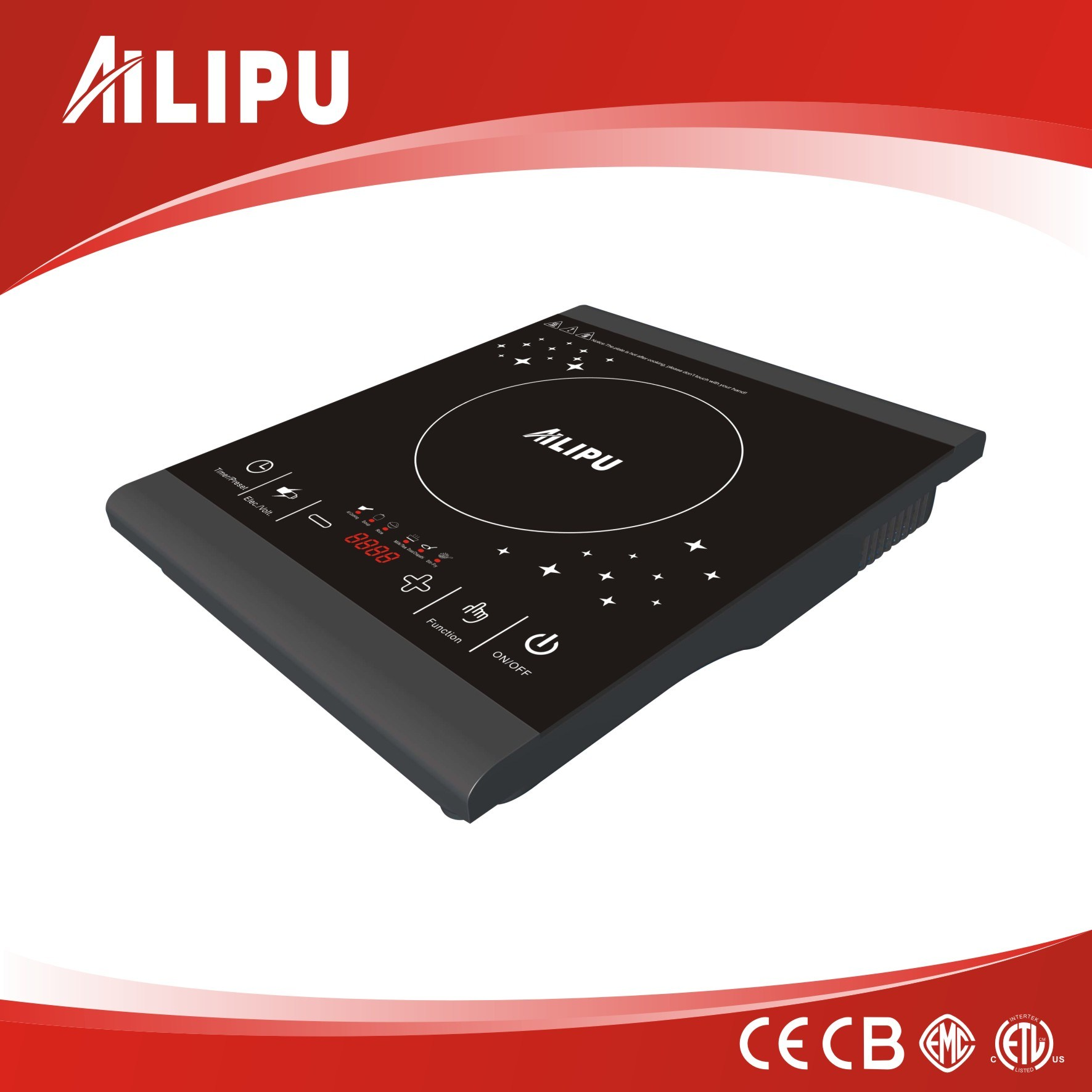One Burner Table Electric Burners/Portable Induction Hobs