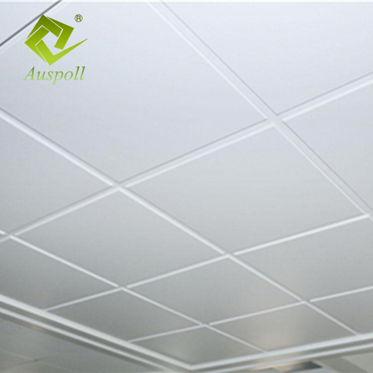 Aluminum Lay-in Ceiling 600X600 24t with Height 8mm Perforated 1.5mm