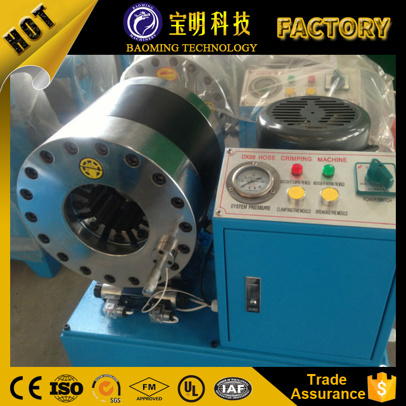 Powerful Durable Hydraulic Air Hose Crimping Machine Air Spring Suspension