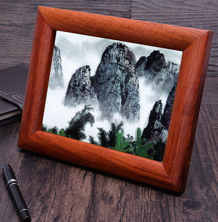 Luxury Natural Rosewood Picture Frame