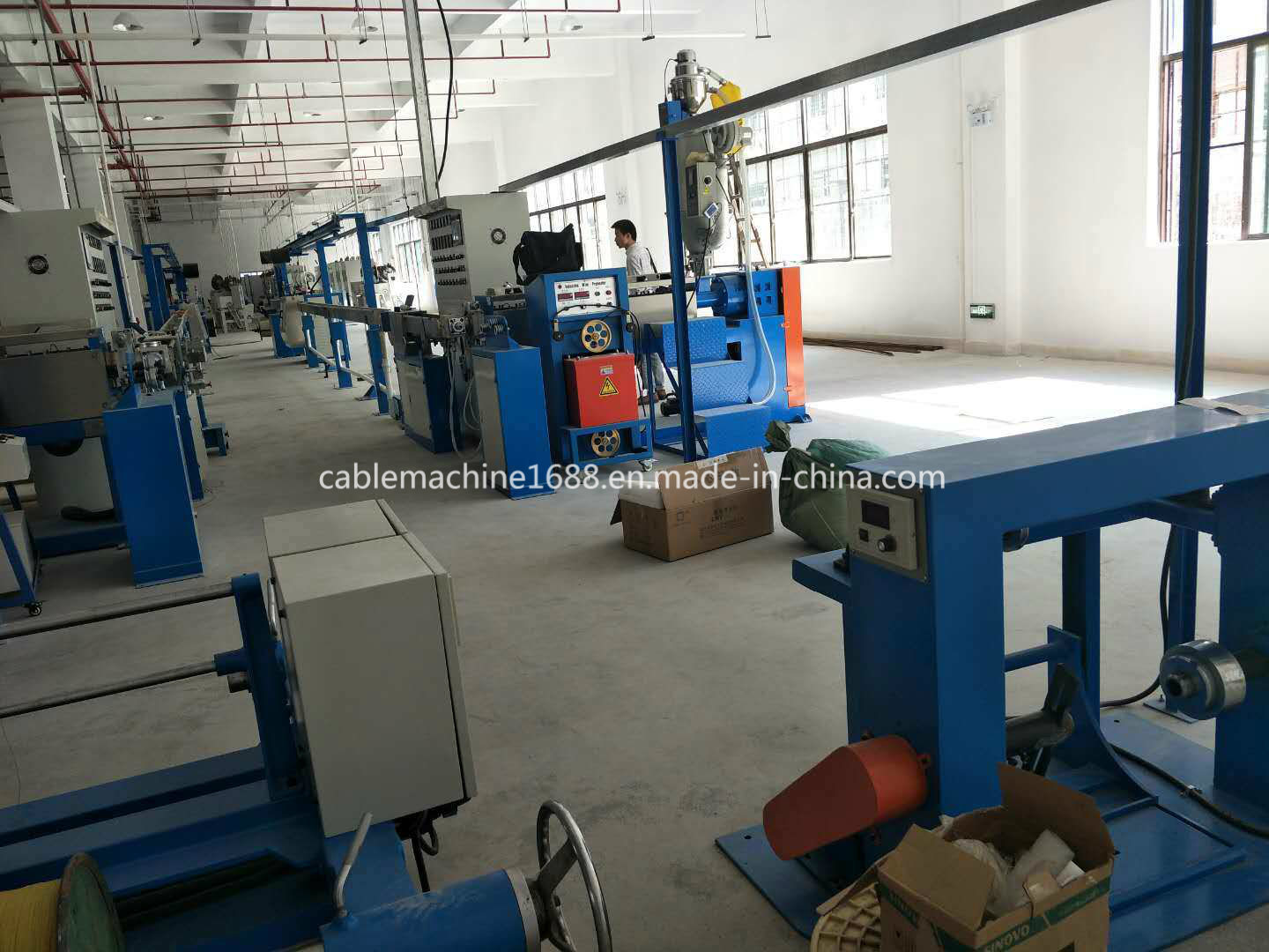 20 Years Factory Electric Wire and Cable Sheathing Machine