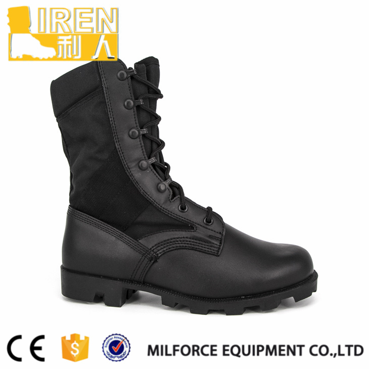 Comfortable Black Army Jungle Boots