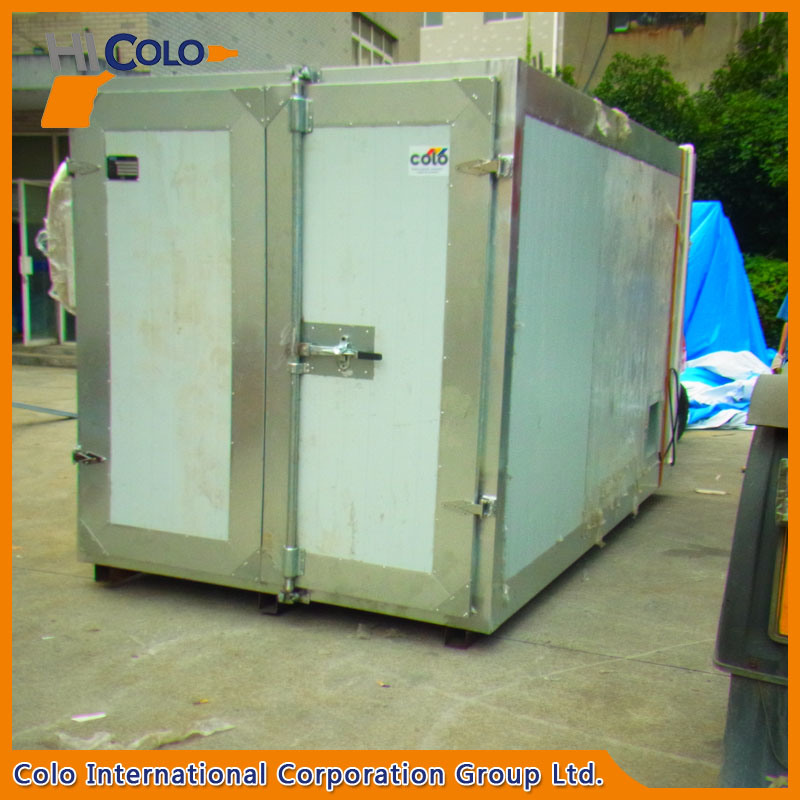 Colo-1732 Gas Batch Powder Painting Oven