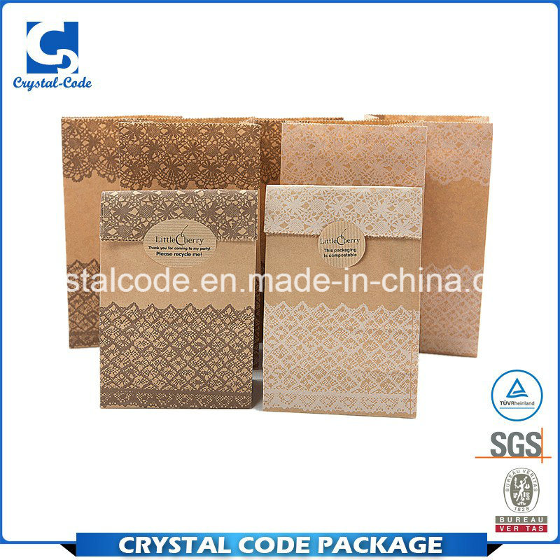 Volume Large and Profit Small Food Kraft Paper Bag