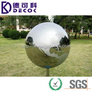 800mm 1m 1.5m Large Size Outdoor Garden Ball Stainless Steel Hollow Sphere