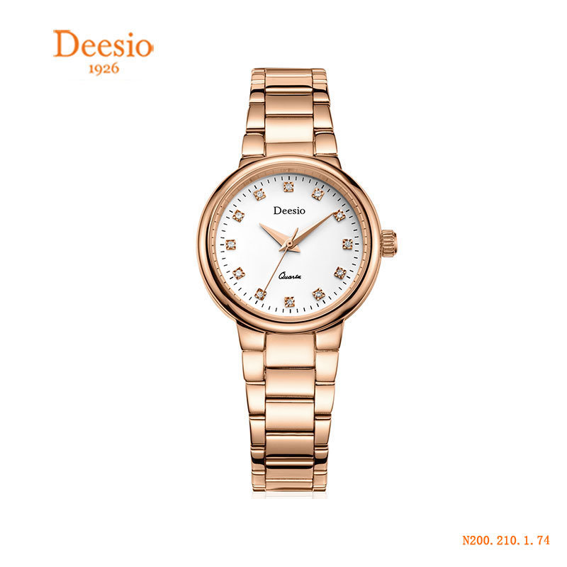 Deesio Watches Women Dress Fashion Waterproof Ladies Wristwatch Female Quartz Wristwatch Top Brand L