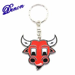 Red Bull Wholesale Price Custom Metal Key Chain