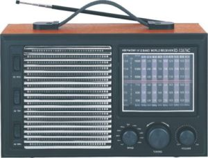 Professional Multi-Bands Portable Radio With 3 Band EQ (AY-6611C)