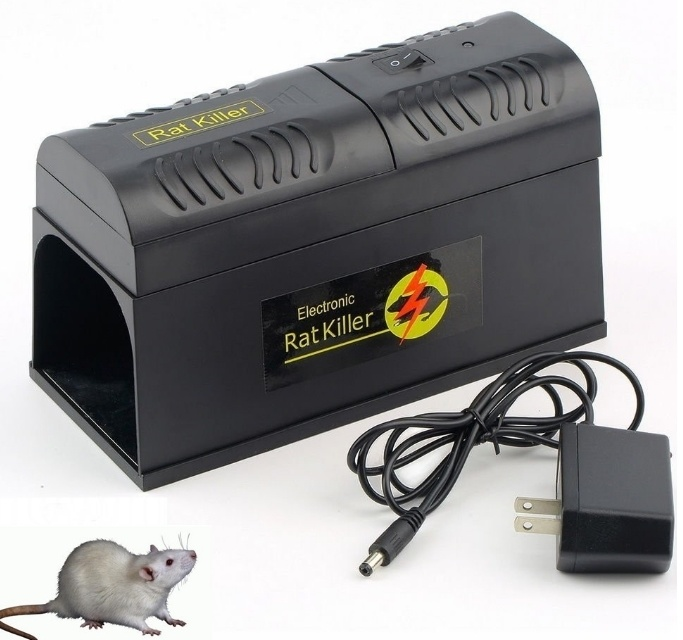 EU/Us Plug High Power Electric Rat Mouse Traps Killer