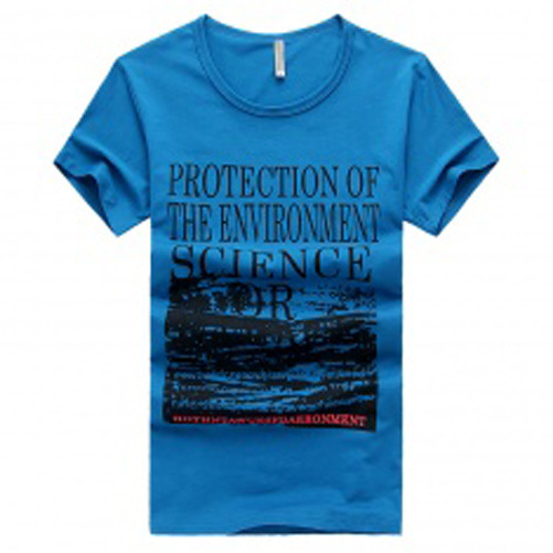 Custom Nice Cotton/Polyester Printed T-Shirt for Men (M035)
