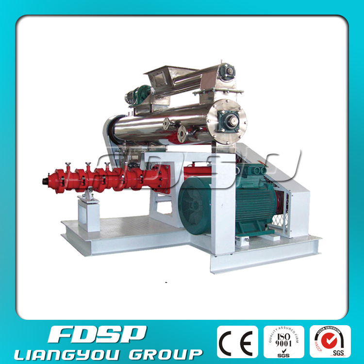 Double Screw Pellet Extruder with Steam