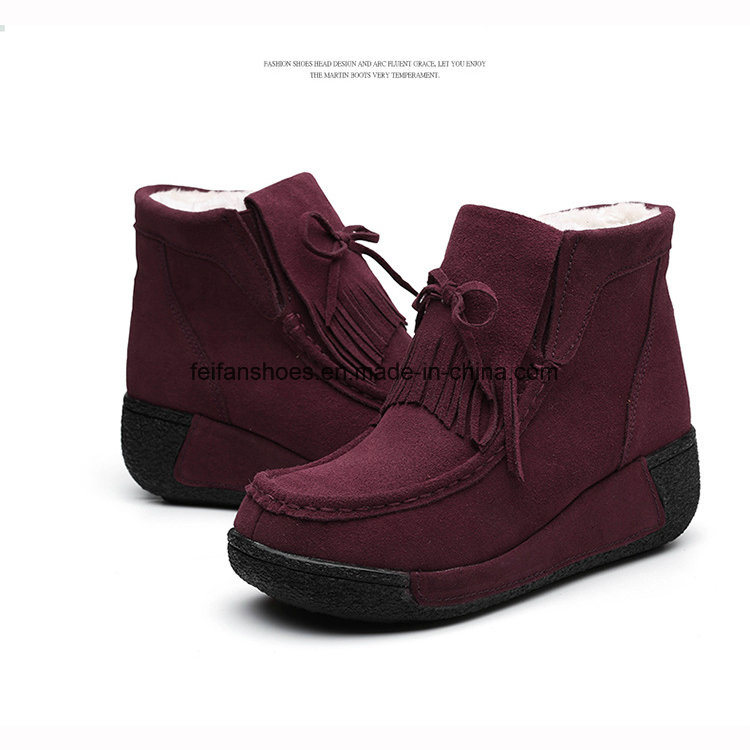 Newest Design of Women Winter Boots Snow Boots (FTS107-16)