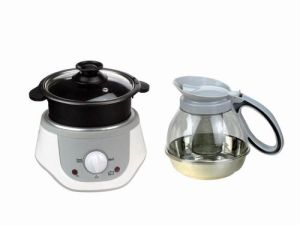Mini Deep Fryer With Tea Boiler Set (KL-801)