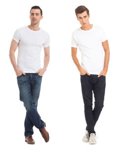 Slim Fit Cotton T-Shirt for Men