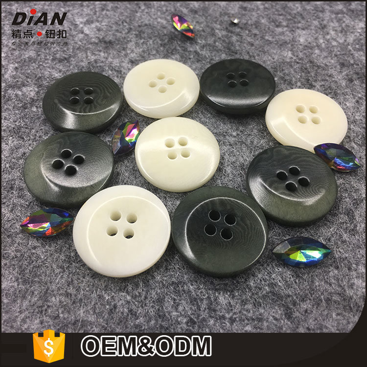 Factory Made 48L Overcoat Buttons for Long Coats Big Size Natural Coat Buttons for Sale