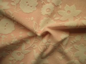 Embossed Printing Soft Velour (HZS--00329)