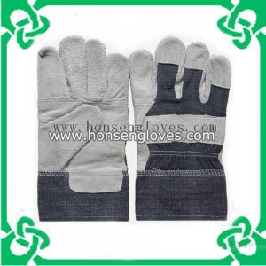 Leather Working Gloves by China Manufacture