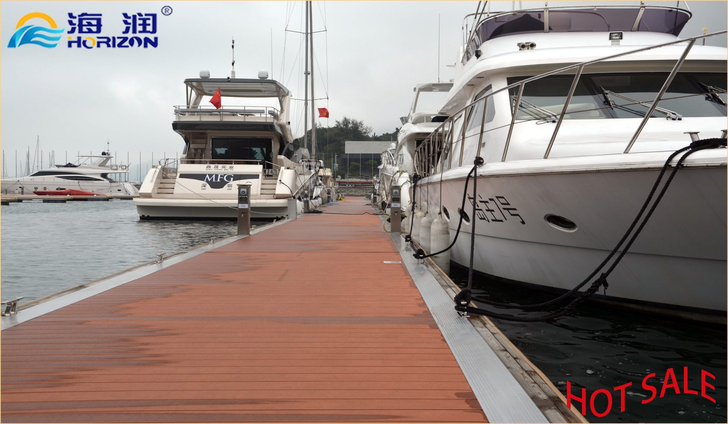Big Sale Floating Dock with Hot DIP Galvanized Steel Dock