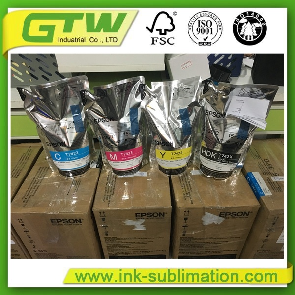 C-M-Y-Bk-Hdk Sublimation Ink Packs with Chip for F6280, F7280, F9280