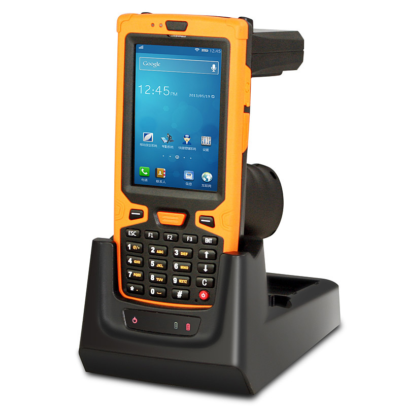 Jepower Ht380A Quad-Core 1.4GHz Android Handheld Barcode Scanner with NFC/WiFi/3G/UHF RFID/Bluetooth