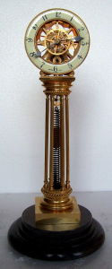 Gilded Extension Spring Clock (JGT01A)