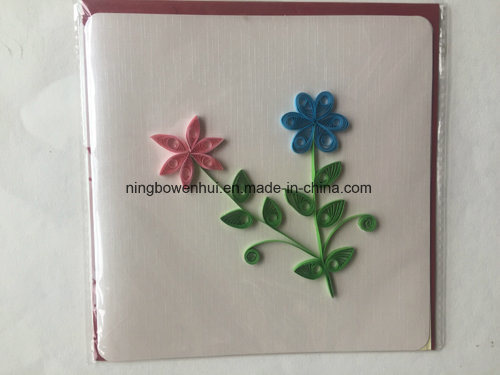 China Suppliers Hand Made Paper Quilling Greeting Cards