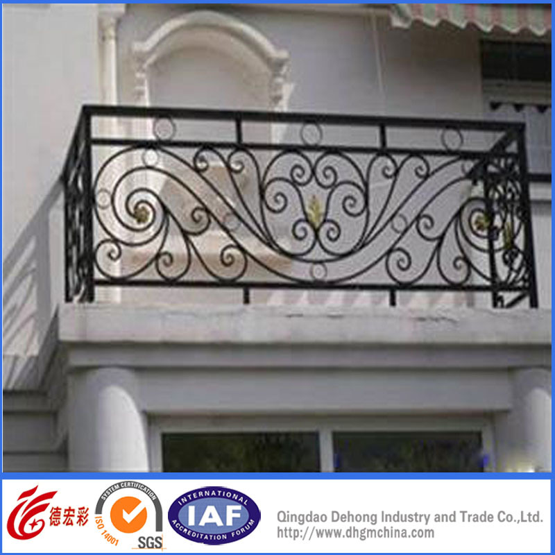 Special Safety High Quality Wrought Iron Balcony Fence