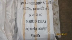 Full Refined Paraffin Wax 58/60 for Candle Making