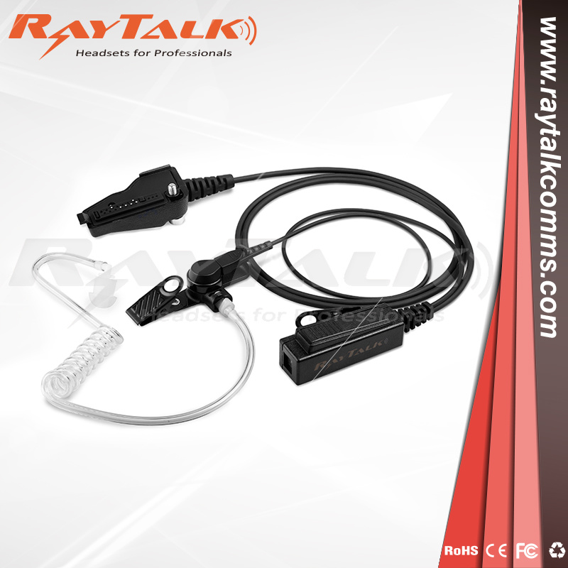 2-Wires Surveillance Earpiece for Kenwood Tk3140, Nx300