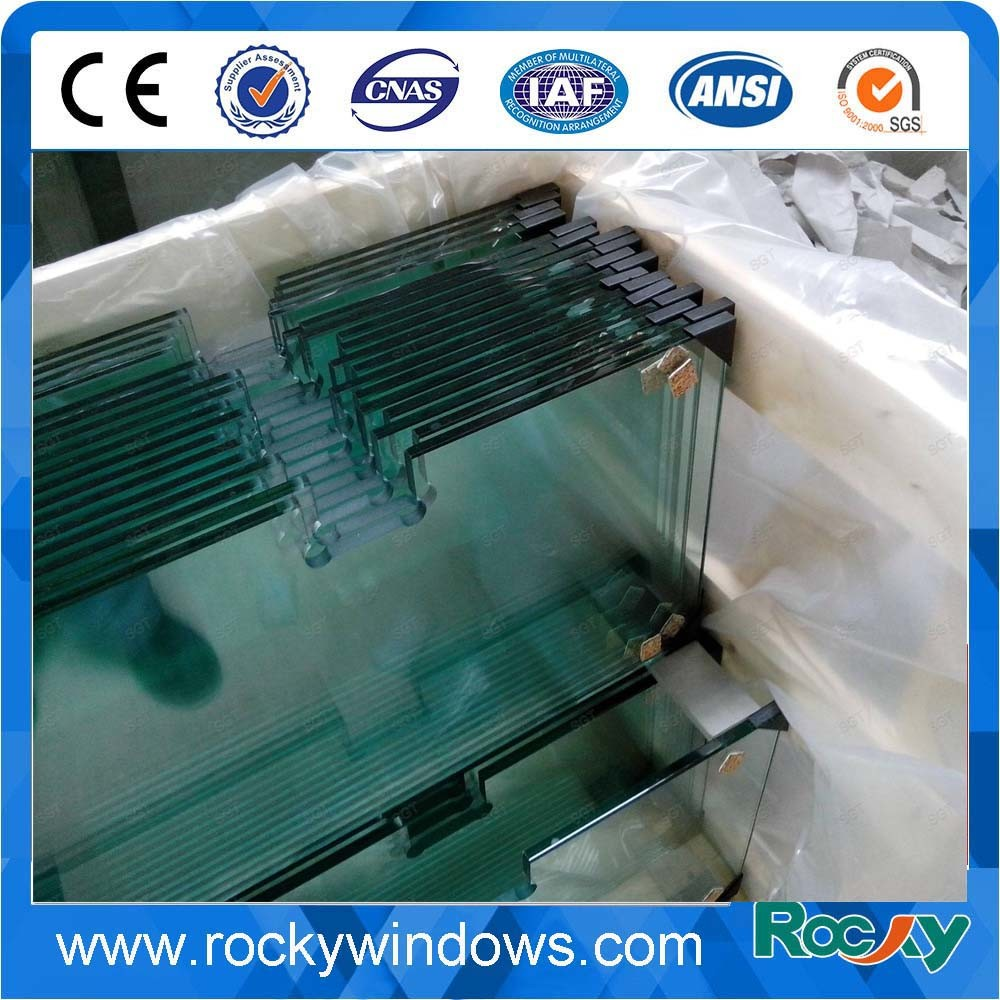 Tempered Glass with Holes for Building and Furniture