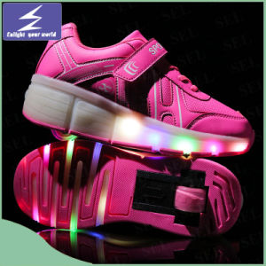 OEM Customize Unisex LED Christmas Light Shoes