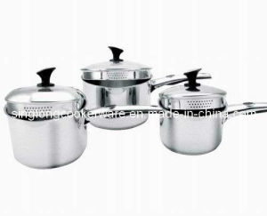 Stainless Steel 6PCS Cookware Set (FH-0063)