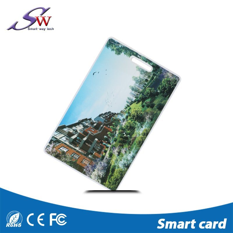 Competitive Price Lf 125kHz Clamshell Card 1.8mm Thickness with Tk4100