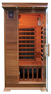 One Person Red Cedar Sauna Cabin (SMT-011)
