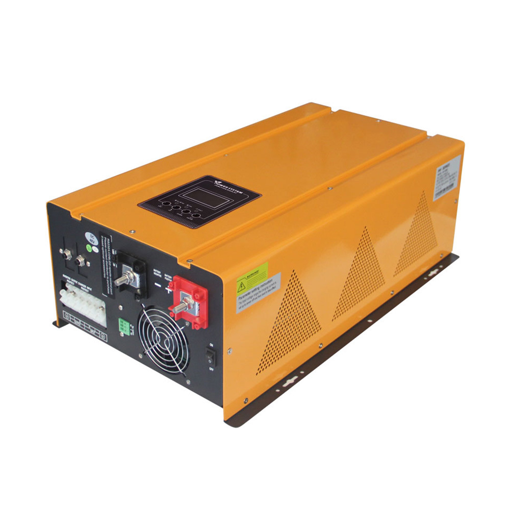 4000W 5000W 6000W 24VDC 48VDC 220VAC 230VAC 50/60Hz off Grid Pure Sine Wave Inverter