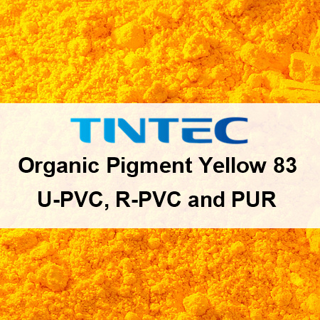 Organic Pigment Yellow 83 for U-PVC, R-PVC and PUR