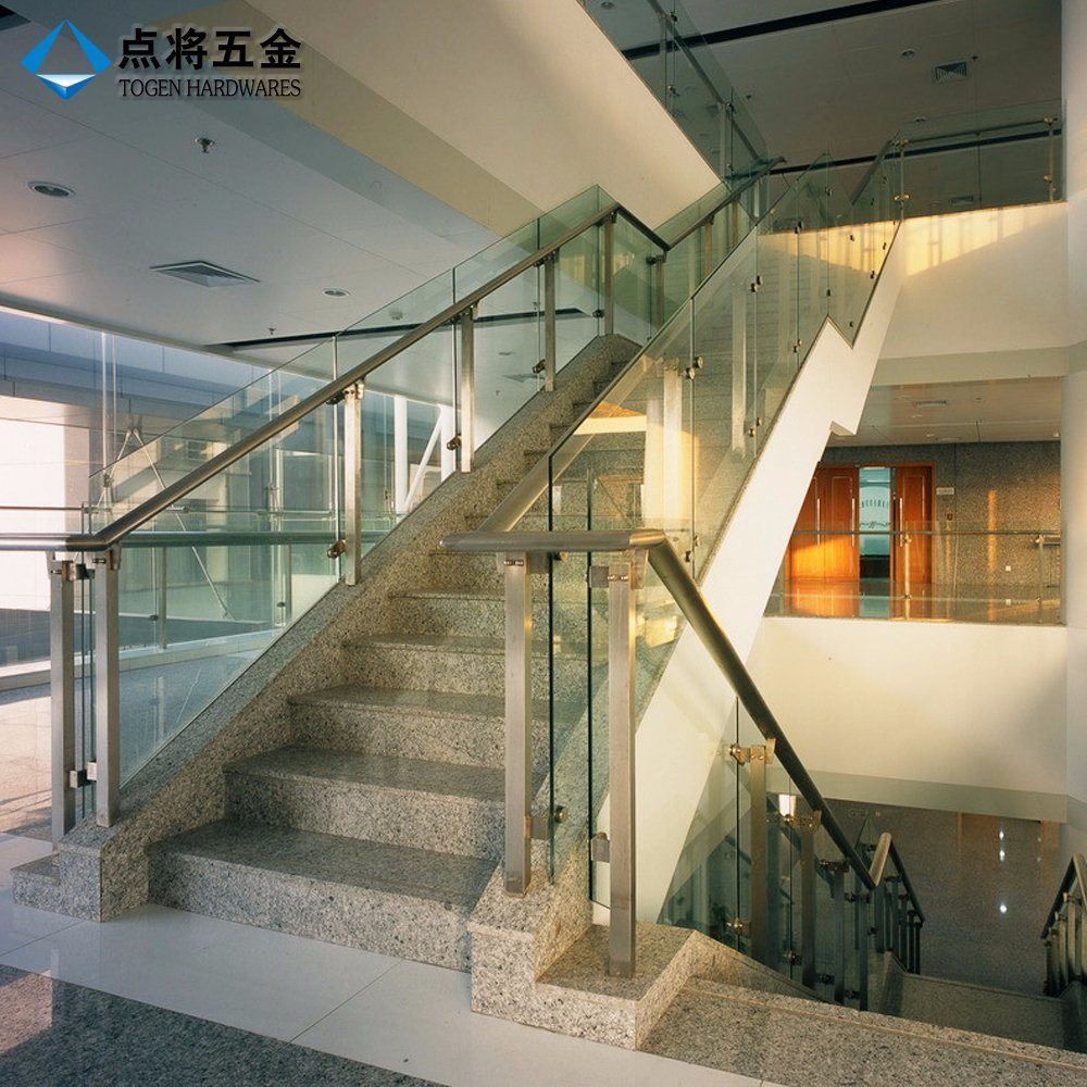 Modern Design Stainless Steel Glass Railing for Stair