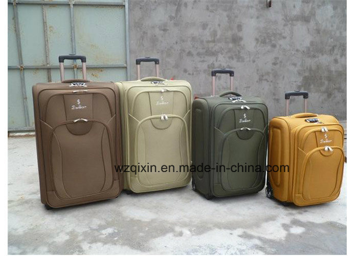 China Cheapest 600dtwill Trolley Case Luggage