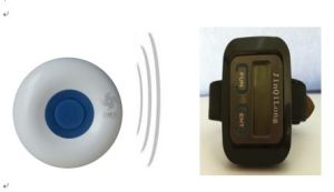 Wireless Portable Paging System for Home or Hospital Management